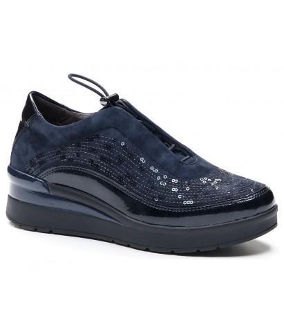 Zapato cordón elástico...