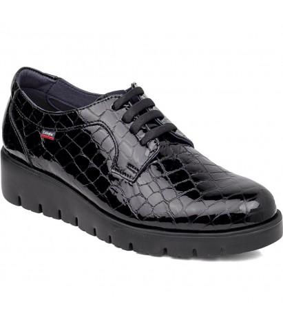 Zapato cocodrilo cordones...