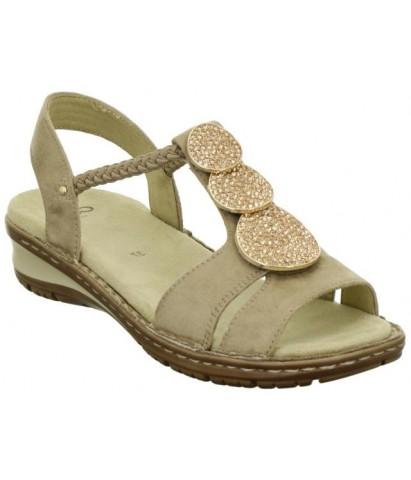 Sandalia elástico Ara...