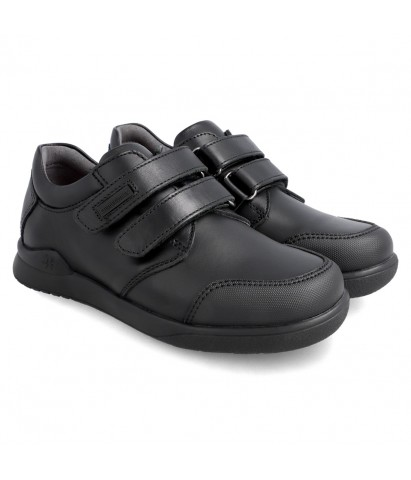 Zapato colegial velcro...